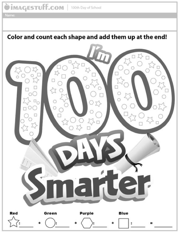 math worksheet : free 100 days of school printables for kindergarten  best free  : 100th Day Math Worksheets