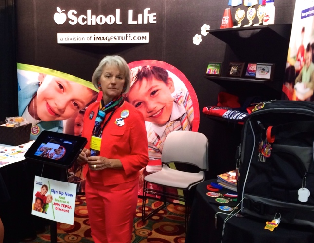 School Life booth at TEPSA